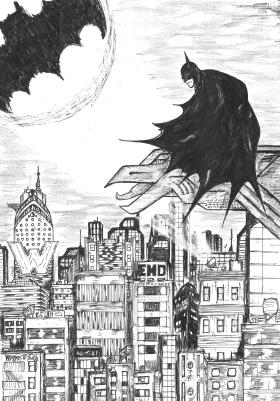 Batman - Arte Finalizado 01