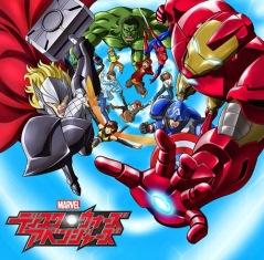 Anime Marvel Disk Wars