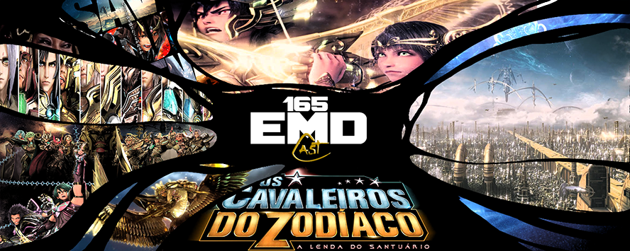 EMD Cast #165 - Cavaleiros do Zodiaco - A Lenda do Santuario (filme)-(capa)