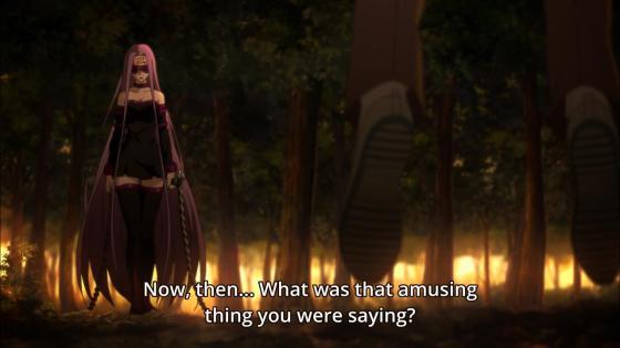 Acho que foi outra coisa que o Shirou fortaleceu depois de aparecer essa guria aí...