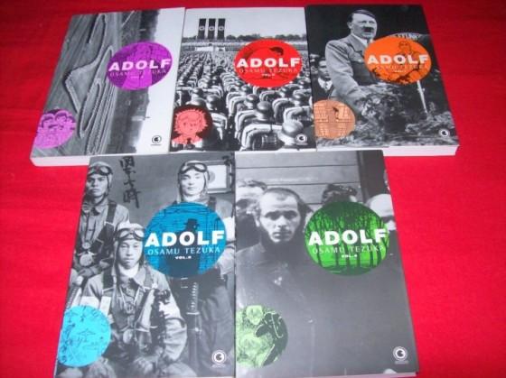 Série que eu adoro. Adolf de Osamu TEzuka.