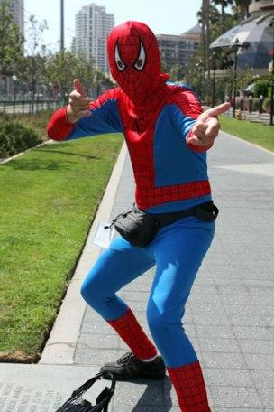 cospobre homem aranha