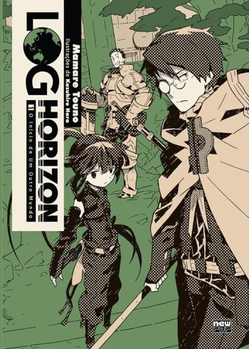 log horizon novel